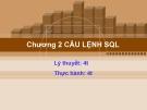Bài giảng Cơ sở dữ liệu quan hệ và SQL: Chương 2 - CĐ CNTT Hữu nghị Việt Hàn