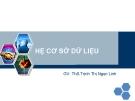 Bài giảng Hệ cơ sở dữ liệu: Chương 8 - ThS. Trịnh Thị Ngọc Linh