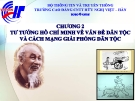 Bài giảng Tư tưởng Hồ Chí Minh: Chương 2 - CĐ CNTT Hữu nghị Việt Hàn