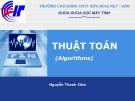Bài giảng Thuật toán: Chương 2 - GV. Nguyễn Thanh Cẩm