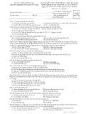 Đề thi kết thúc học phần học kỳ 1 môn Nguyên lý kế toán - ĐH Dân Lập Văn Lang
