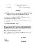 Quyết định số: 53/QĐ-BXD