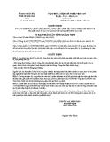 Quyết định số: 192/QĐ-UBND