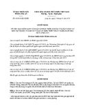 Quyết định số: 08/2014/QĐ-UBND (2014)
