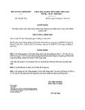 Quyết định số: 192/QĐ-TTg (2014)