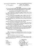Quyết định số: 88/QĐ-BTNMT