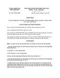 Quyết định số: 06/2013/QĐ-UBND (2014)