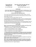 Quyết định số: 07/2014/QĐ-UBND