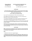 Quyết định số: 07/2014/QĐ-UBND (2014)