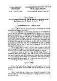 Quyết định số: 01/2014/QĐ-UBND (21tr)