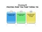 Bài giảng Điều tra xã hội học: Chương 4 - ThS. Nguyễn Thị Xuân Mai