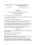 Quyết định số: 205/QĐ-TTg
