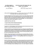 Báo cáo số: 105/BC-BNN-PC