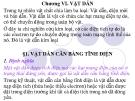 Bài giảng Vật lý A1: Chương 6