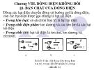 Bài giảng Vật lý A1: Chương 8