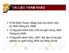Bài giảng Tài chính tiền tệ: Chương 1 - ĐH Hoa Sen