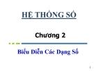 Bài giảng Nhập môn mạch số: Chương 2 - Hà Lê Hoài Trung