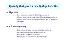 Bài giảng Quản lý dự án: Chương 3 - ThS. Trần Linh Đăng