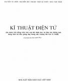 Ebook Kĩ thuật điện tử: Phần 1 - Đỗ Xuân Thụ (chủ biên)