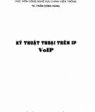 Ebook Kĩ thuật thoại trên IP VoIP: Phần 1 - TS. Trần Công Hùng