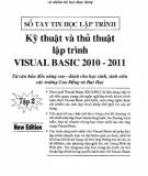 Ngôn ngữ lập trình Visual Basic 2010 - 2011 - Tập 2: Phần 3