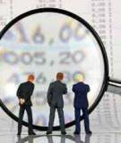 Bài giảng Kiểm toán: Phần 1 - CĐ Kinh tế Kỹ thuật Vĩnh Phúc