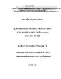 Luận văn thạc sỹ kinh tế: Quản trị rủi ro tín dụng tại ngân hàng Nông nghiệp và Phát triển nông thôn Gia Lâm - Hà Nội