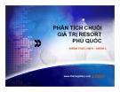 Thuyết trình: Phân tích chuỗi giá trị resort Phú Quốc
