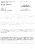Đề thi môn Translation 3 năm 2013-2014 - ĐH Văn Lang