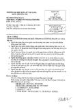 Đề thi môn Nghiệp vụ ngoại thương năm 2013-2014 - ĐH Văn Lang