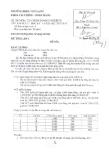 Đề thi môn Tài chính doanh nghiệp 3 năm 2013-2014 - ĐH Văn Lang