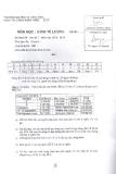 Đề thi môn Kinh tế lượng năm 2013-2014 - ĐH Văn Lang