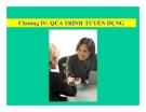 Bài giảng Quản trị nguồn nhân lực - Chương 4: Quá trình tuyển dụng