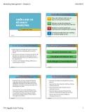 Bài giảng Quản trị marketing: Chương 2 - TS. Nguyễn Xuân Trường