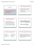 Bài giảng Quản trị marketing: Chương 13 - TS. Nguyễn Xuân Trường