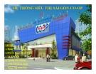 Thuyết trình: Chiến lược kinh doanh của hệ thống siêu thị Sài Gòn CO-OP
