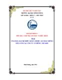 Tiểu luận: Ứng dụng bảo trì thiết bị dây chuyền sản xuất bê tông nhựa nóng tại công ty CP bê tông Becamex
