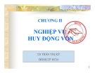 Bài giảng Kế toán ngân hàng: Chương 2 -  TS. Trần Thị Kỳ