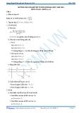 Hướng dẫn giải đề thi Đại học môn Toán khối A & A1 năm 2014