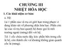 Bài giảng Hóa học đại cương: Chương III - Nguyễn Văn Đồng