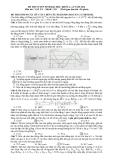 Đề thi và gợi ý đáp án Đại học môn Vật lí khối A & A1 năm 2014 (Mã đề 391)