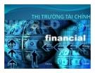 Bài giảng Thị trường tài chính - Chương 1: Hệ thống tài chính