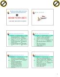 Bài giảng Giới thiệu môn học Hành vi tổ chức - ThS. Nguyễn Văn Chương