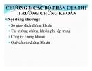 Bài giảng Thị trường chứng khoán: Chương 2 - ThS. Trần Tuấn Việt