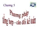 Bài giảng Nguyên lý kế toán: Chương 5 - ĐH Lạc Hồng