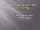 Bài giảng Phòng ngừa xoắn đỉnh tại bệnh viện - PGS.TS. Nguyễn Anh Vũ