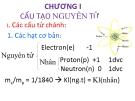 Bài giảng Bài tập Hóa học phân tử