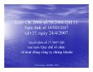 Bài giảng Luật CK 2006 số 70/2006/QH 11