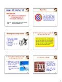 Bài giảng Kinh tế quốc tế: Chương 4 - Nguyễn Xuân Đạo, MIB