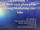 Bài giảng Marketing căn bản: Chương 5 - ThS. Trần Hải Ly